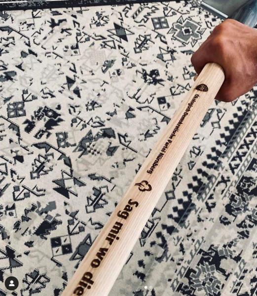 Handspaten inkl. Holzgravur