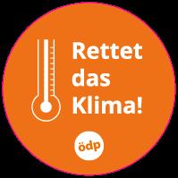 ÖDP-Sticker Klima