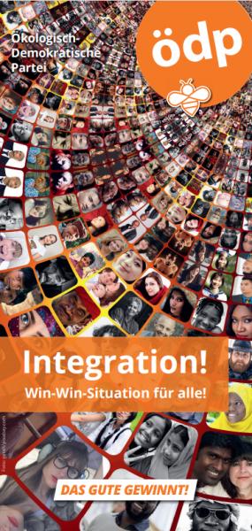 Faltblatt Integration