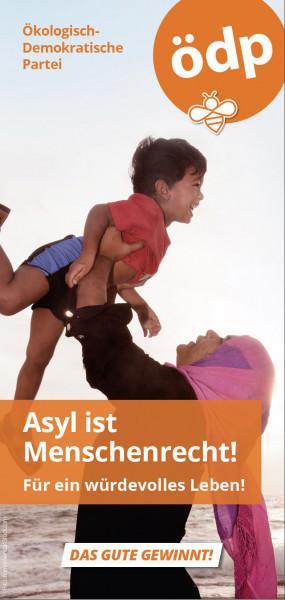 Faltblatt Asyl