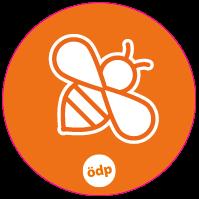 ÖDP-Sticker Biene