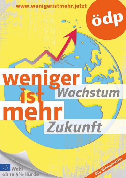 4 EU-Themenplakate A1 Plastik