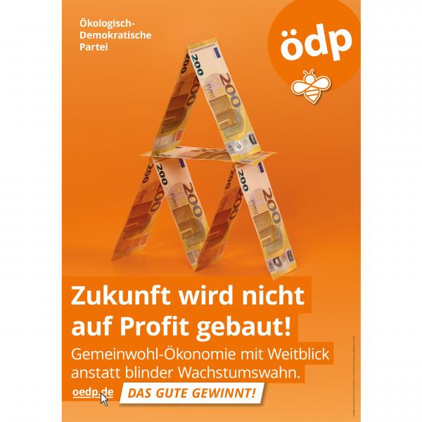 "A1 Pappe-Doppel-Plakat ""Gemeinwohl"""