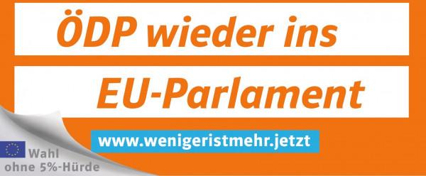 Plakatüberkleber Themenplakat Bundestagswahl 2017