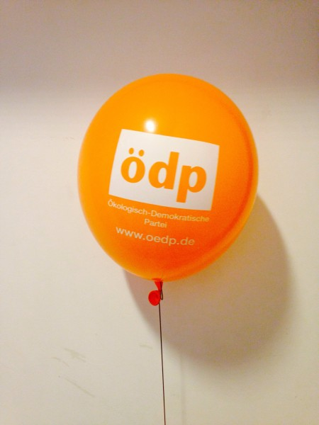 ÖDP-Luftballon