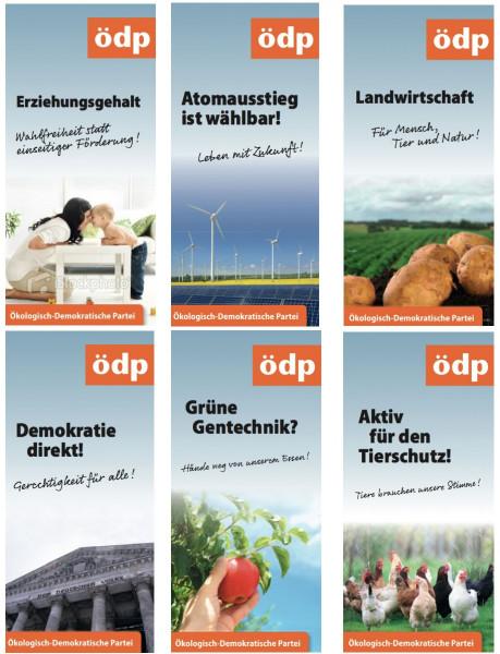 Themenfaltblätter (verschiedene Themen)
