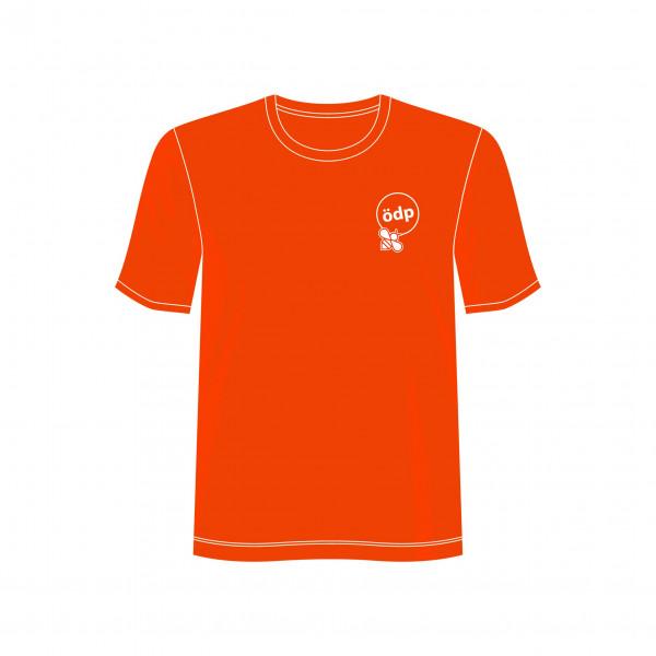 Shirt mit ÖDP-Logo inkl. Biene (bedruckt)