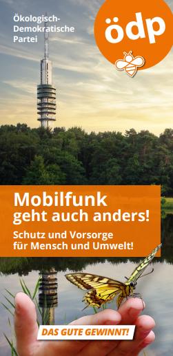 Faltblatt Mobilfunk