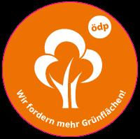 ÖDP-Sticker Baum