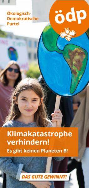 Faltblatt Klima